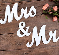 Mr and Mrs letters