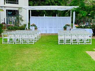 Wedding set-up Stamford Plaza
