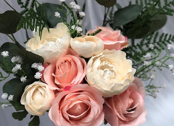 Artificial Bouquet - Pretty in Pink
