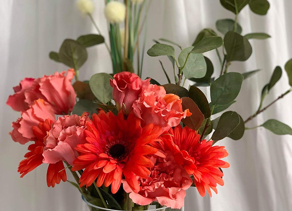 Artificial Bouquet - Reds