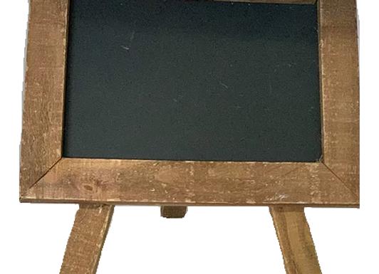 Chalkboard - Mini easel