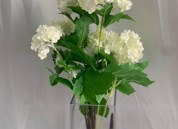 Artificial Centrepiece - Snowball