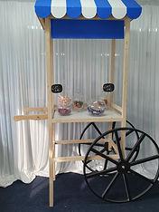 Lolly buffet cart