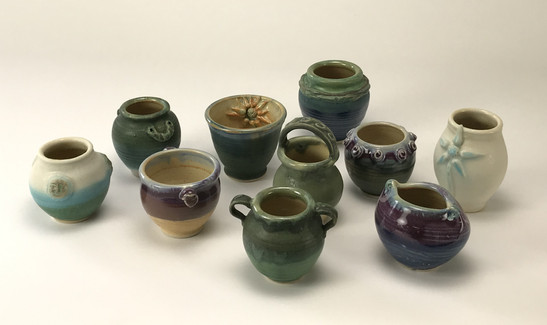 Tiny Bowls and Vases