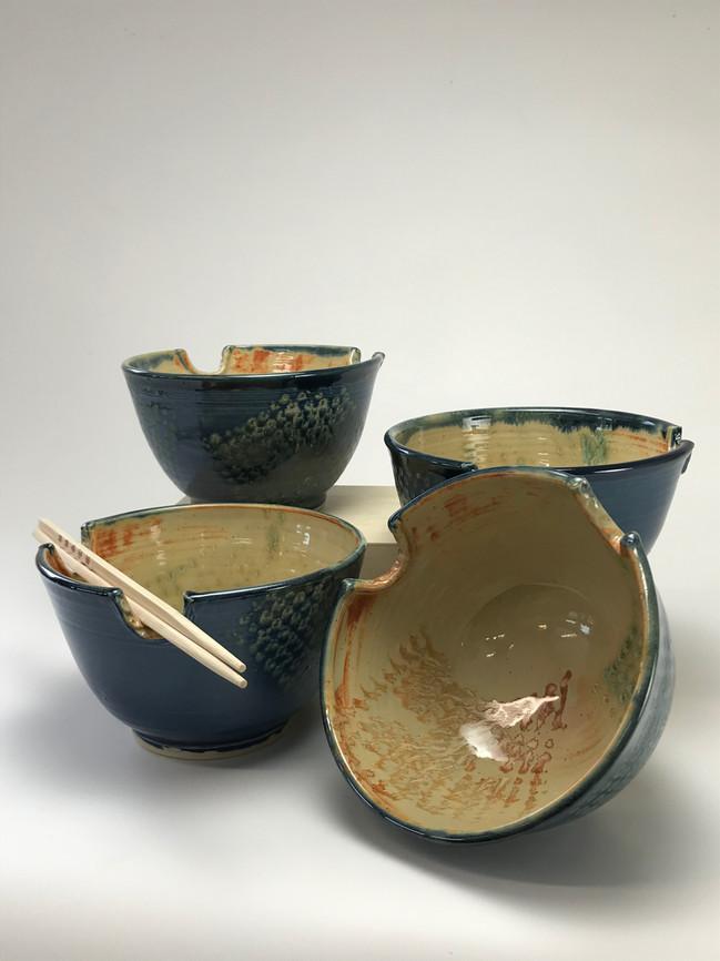 Blue Rice/Noodle Bowls