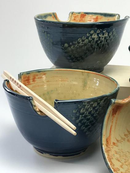 Detail/Blue Fish Scale Rice Bowls
