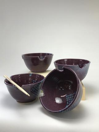 Purple Rice/Noodle Bowls