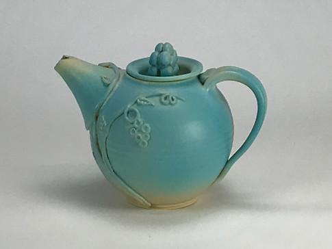 Vine Teapot Aqua