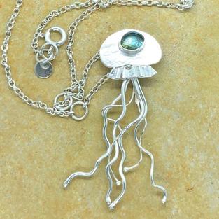 Bluegreen Jellyfish