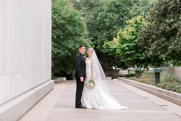 Library of Congress bride and groom portrait