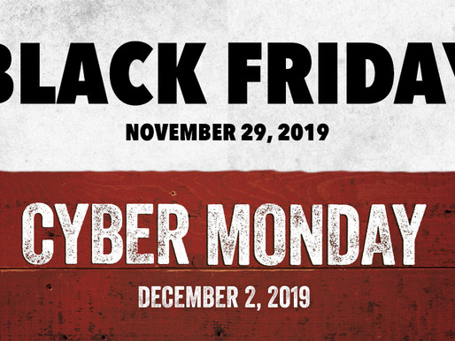 It's Black Friday in Canada 2019!