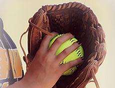 Glove and Ball