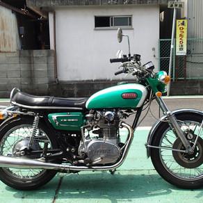 バイク入荷のお知らせ(XS 650E・SP)