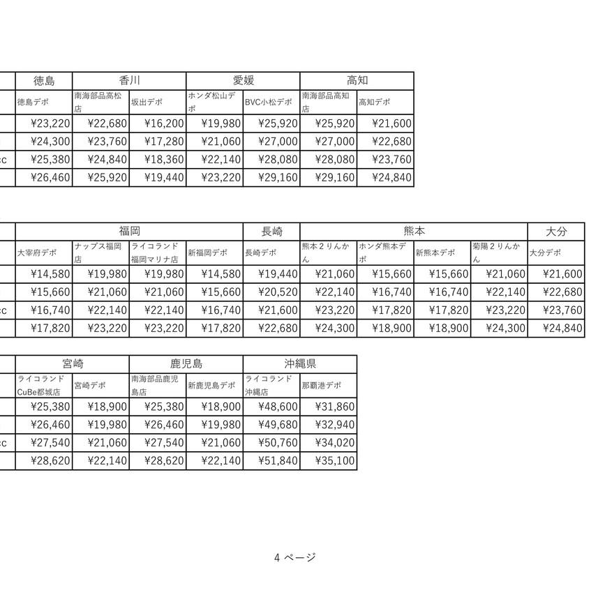 デポ持ち込み輸送料(→小牧)-4