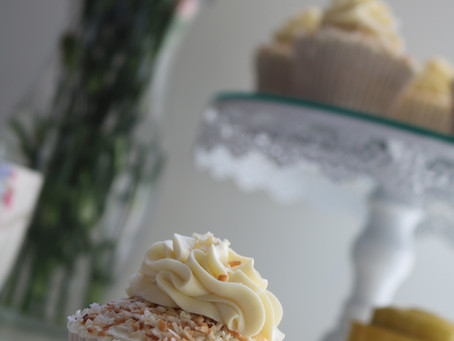 Coconut Truffle Cupcakes - Whittard Tea...