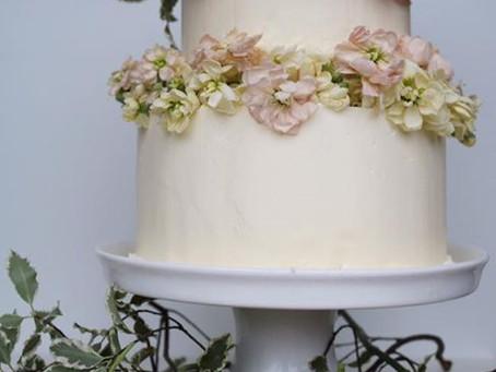 Fresh Flower Cake..