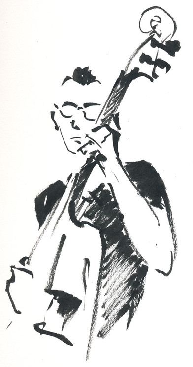 Blues with the Double Bass