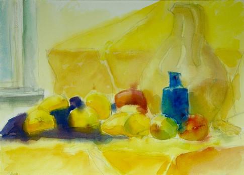 Yellow Still Life