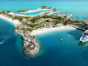MSC Seashore wird in der Karibik am 18.11.2021 getauft
