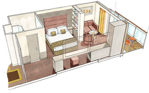 msc Yacht Club Deluxe Grand Suite-YCP