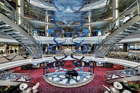 msc cruises rezeption foyer