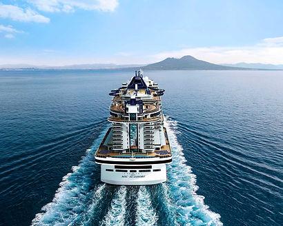 MSC Seashore Kreuzfahrerei Bordguthaben