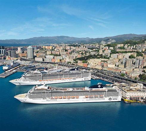 msc cruises kreuzfahrthafen genua