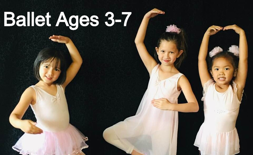 Kids Ballet Ages 3-7 - Tuesdays from 5:15-5:45