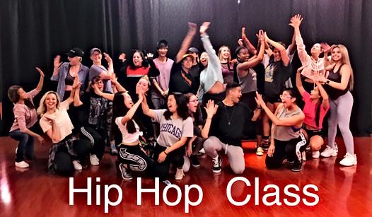 Hip Hop Mondays & Tuesdays - 7:30-8:30pm