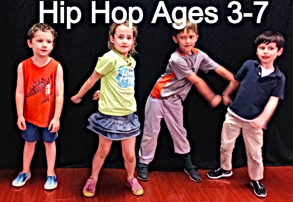 Kids Hip Hop Ages 3-7 on Tuesdays