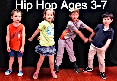 Kids Hip Hop Ages 3-7 on Tuesdays