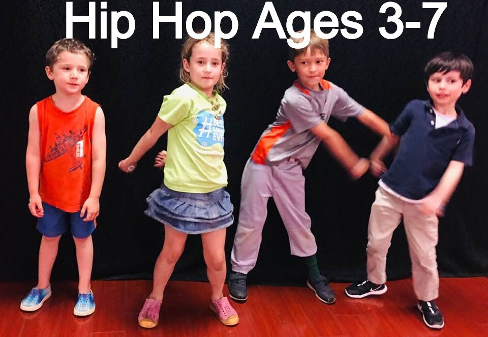 Kids Hip Hop Ages 3-7 - Tuesdays