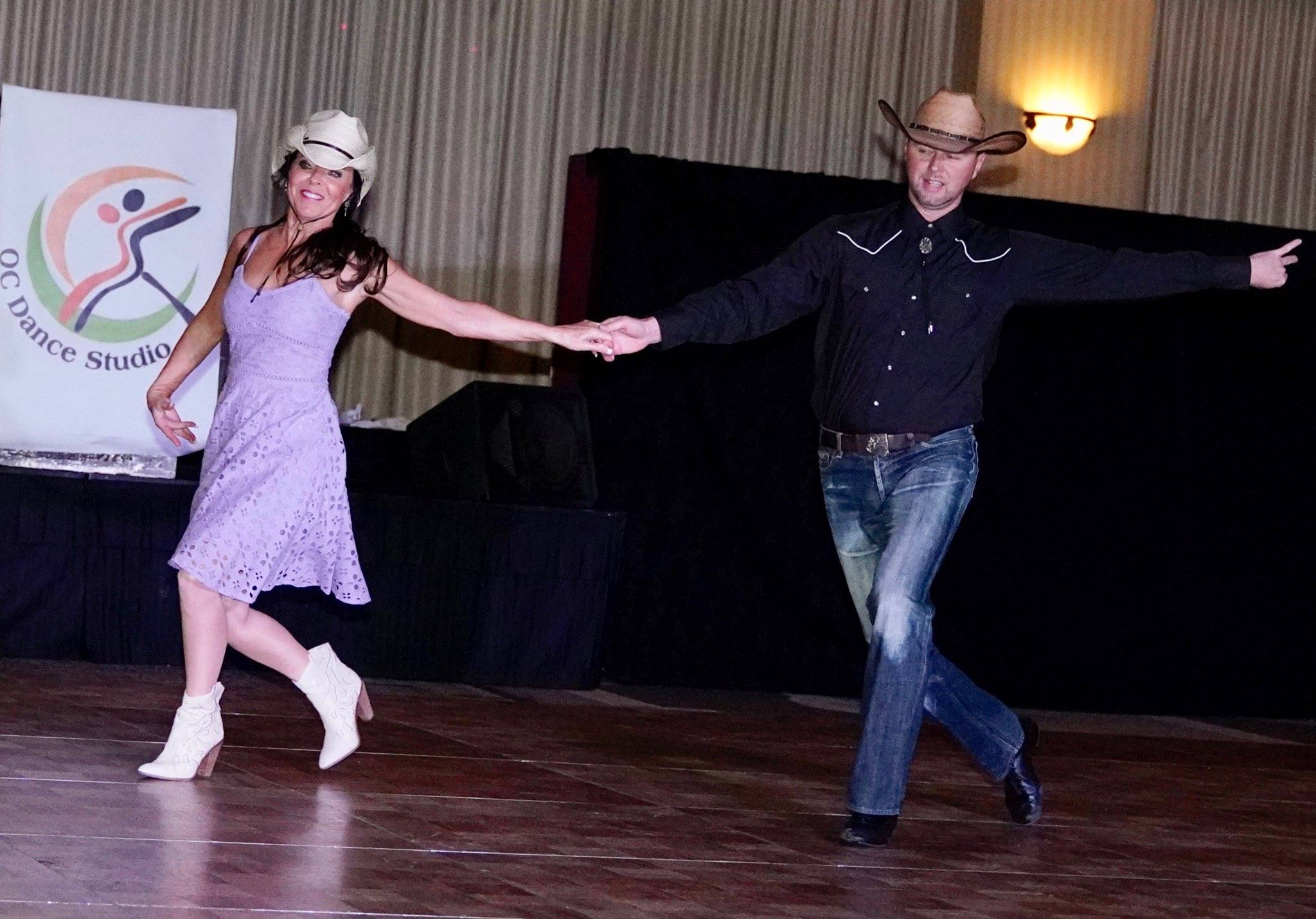 Country dance lessons