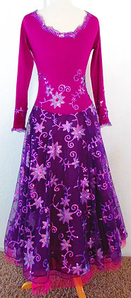 Fuchsia Smooth Dress