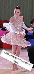 Latin & Ballroom Dresses for Sale or Rental in Orange County