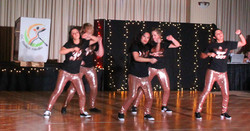 HIP HOP dancing at OC dance studio