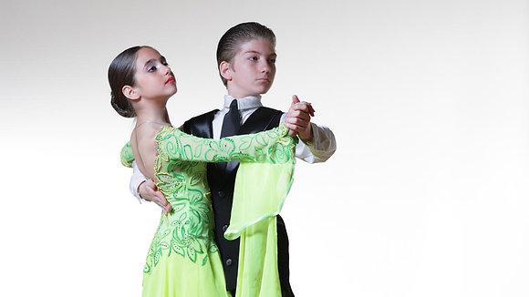 Ages 10-16 -Ballroom Bronze/Silver Mondays Pass