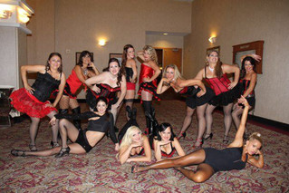 Burlesque Class Lesson in Orange County for Beginners serving Irvine, Costa Mesa, Newport Beach...