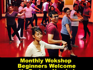 Merengue, Cumbia, Bachata and Salsa Workshop for Beginners