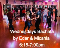 BACHATA - WEDNESDAYS 6:15-7:00PM