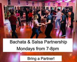 Bachata & Salsa Class at OC Dance Studio - Monday Nights