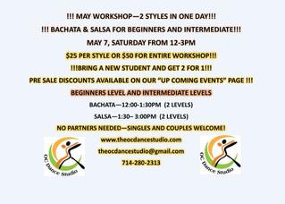 Dance Studios in Orange County for Salsa and Bachata Dance Classes