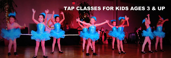 Ages 6-9 -  Tap Monthly Pass for Tuesdays