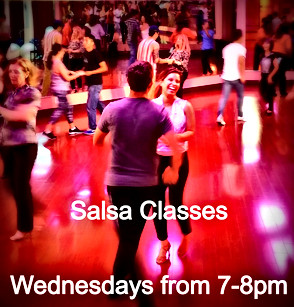 Wednesdays Salsa from 7-8pm by Eder & Michala
