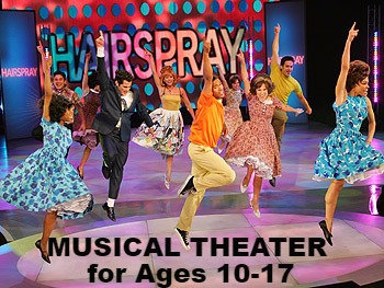 Ages 10-17 - Musical Theater Tuesdays Pass