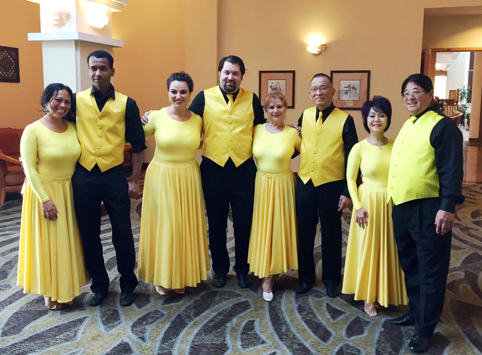 Ballroom Performers Spring 2016