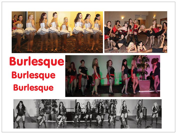 Burlesque Shows from the Past...