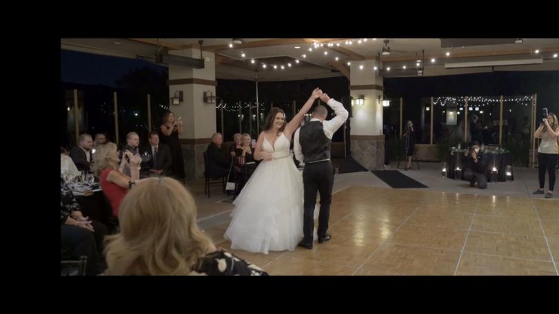 A Romantic Country Waltz Wedding Dance