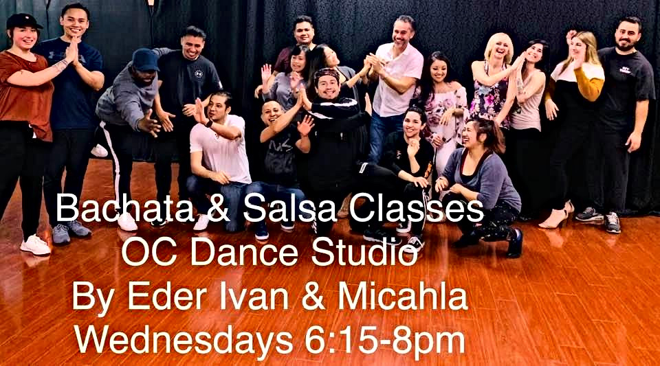 Salsa & Bachata Classes in Orange County