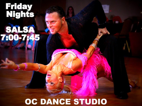 Salsa Classes Wednesday and Friday Nights in Orange County